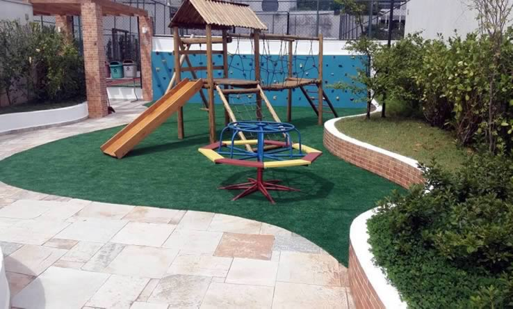 Grama Sintética Play Ground